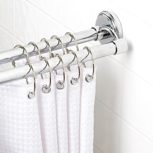 Want A Double One Shower Rod Double Shower Curtain Rod