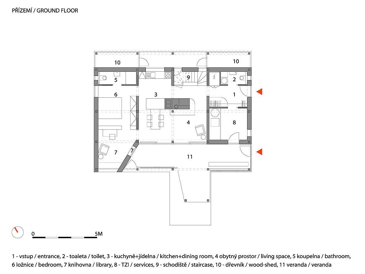 House On The Marsh A1 Floor Plan Design Floor Plans Ground Floor Plan