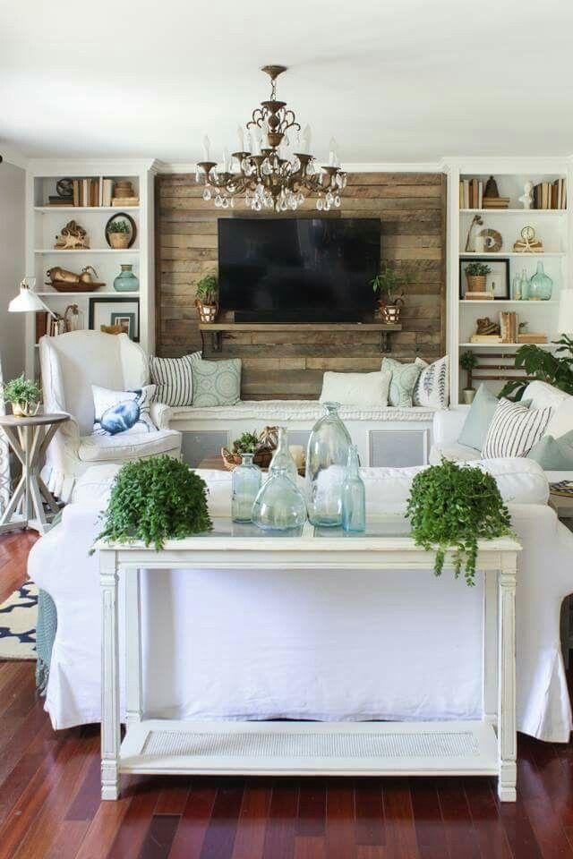 Pretty Living Room Coastal Decorating Living Room Farmhouse