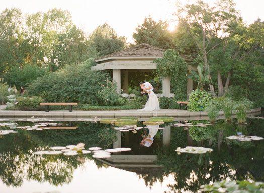 A Whimsical Vintage Garden Party At The Denver Botanic Gardens   Ceremony  Option  Donu0027