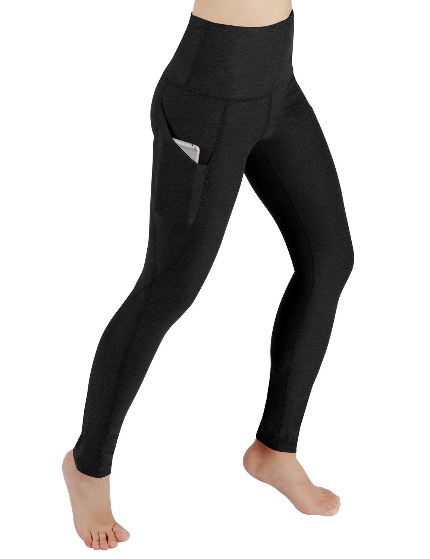 f45a6a09e1bca Amazon.com: ODODOS High Waist Out Pocket Yoga Pants Tummy Control Workout  Running 4