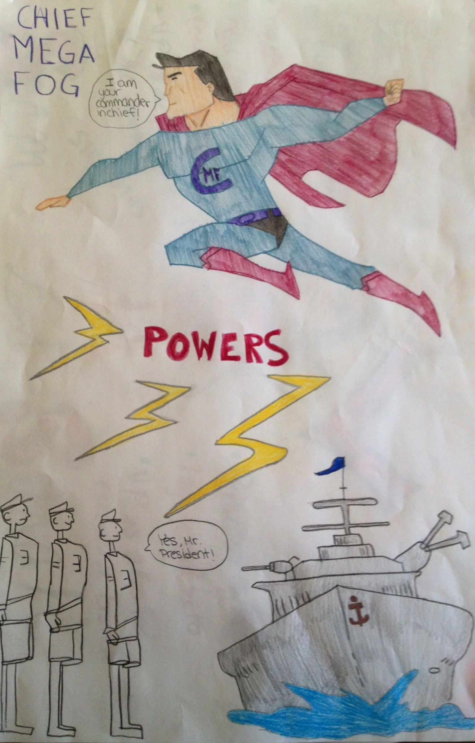 Teaching The Constitution Superheroes And The Branches Of