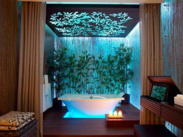 Bathroom Designs That Fused with Nature
