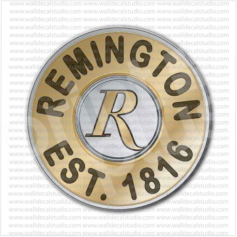 Remington Firearms Gunmaker Bullet 1816 Sticker