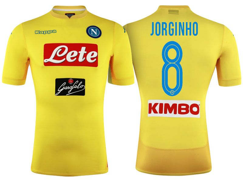 info for cc3c6 d3c2a SSC Napoli 2017-18 Away Shirt Jersey jorginho | cheap Napoli ...