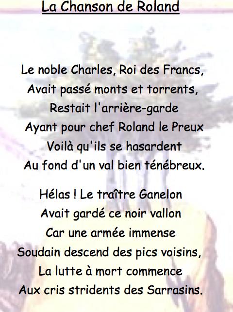 La Poésie Au Moyen Age : poésie, moyen, Moyen, Poésie, Chanson, Roland,, Difficile