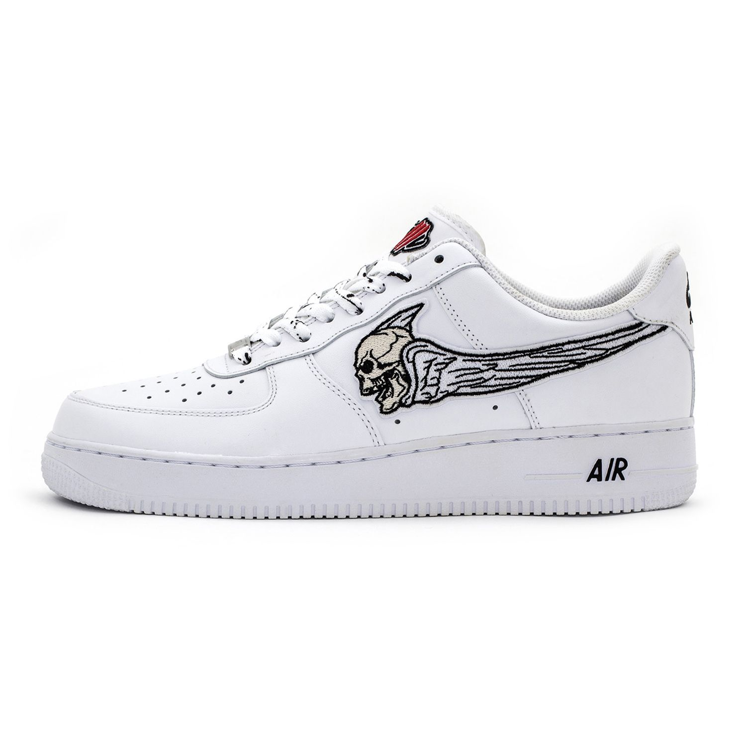ГРЕШНИК AIR FORCE 1 Bone   White Low Custom Sneakers in 2019 ... 2b63a1e7a