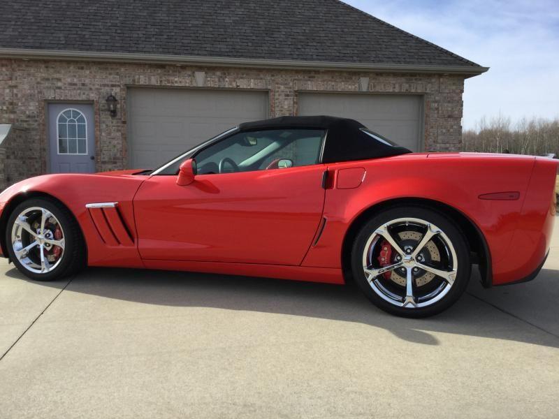 2012 Corvette Convertible For Sale In Michigan 2012 Corvette Grand Sport Convertible Corvette 2012 Corvette Corvette Convertible