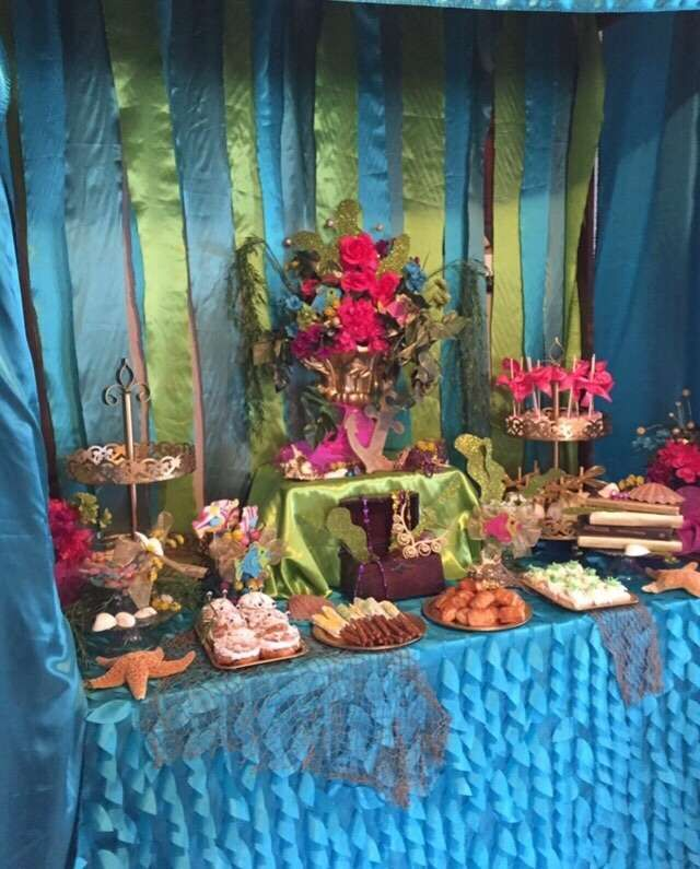 Good Under The Sea Baby Shower Food Table Idea