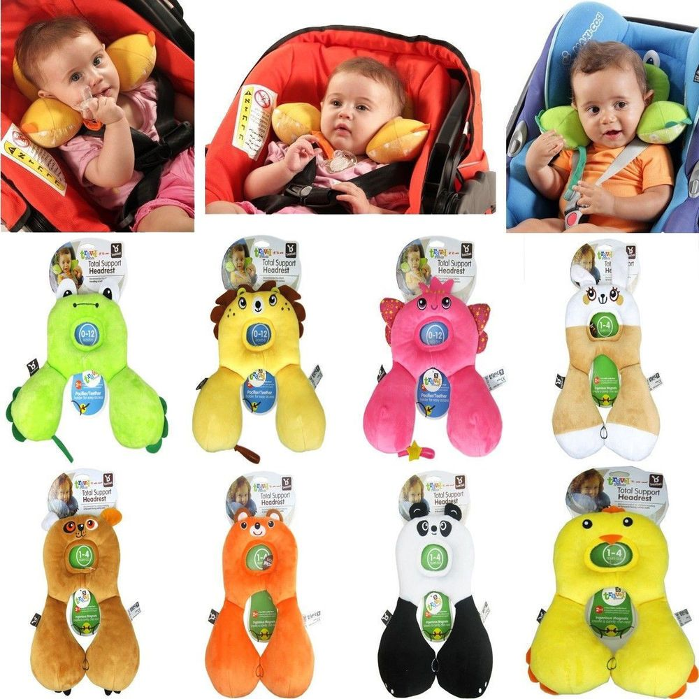 Baby Kids Travel Car Seat Stroller Head Neck Pillow
