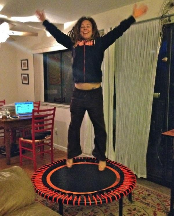 Love At First Bounce: The Benefits Of Rebounding