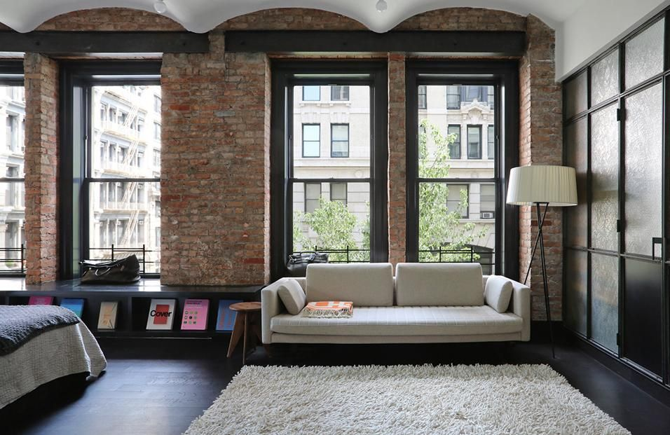 Arredare Con Il Nero Ny Loft Loft Style Loft Spaces