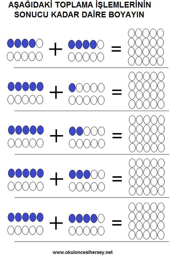 Basit Toplama Toplama Cikarma Islemi Temel Matematik 1 Sinif
