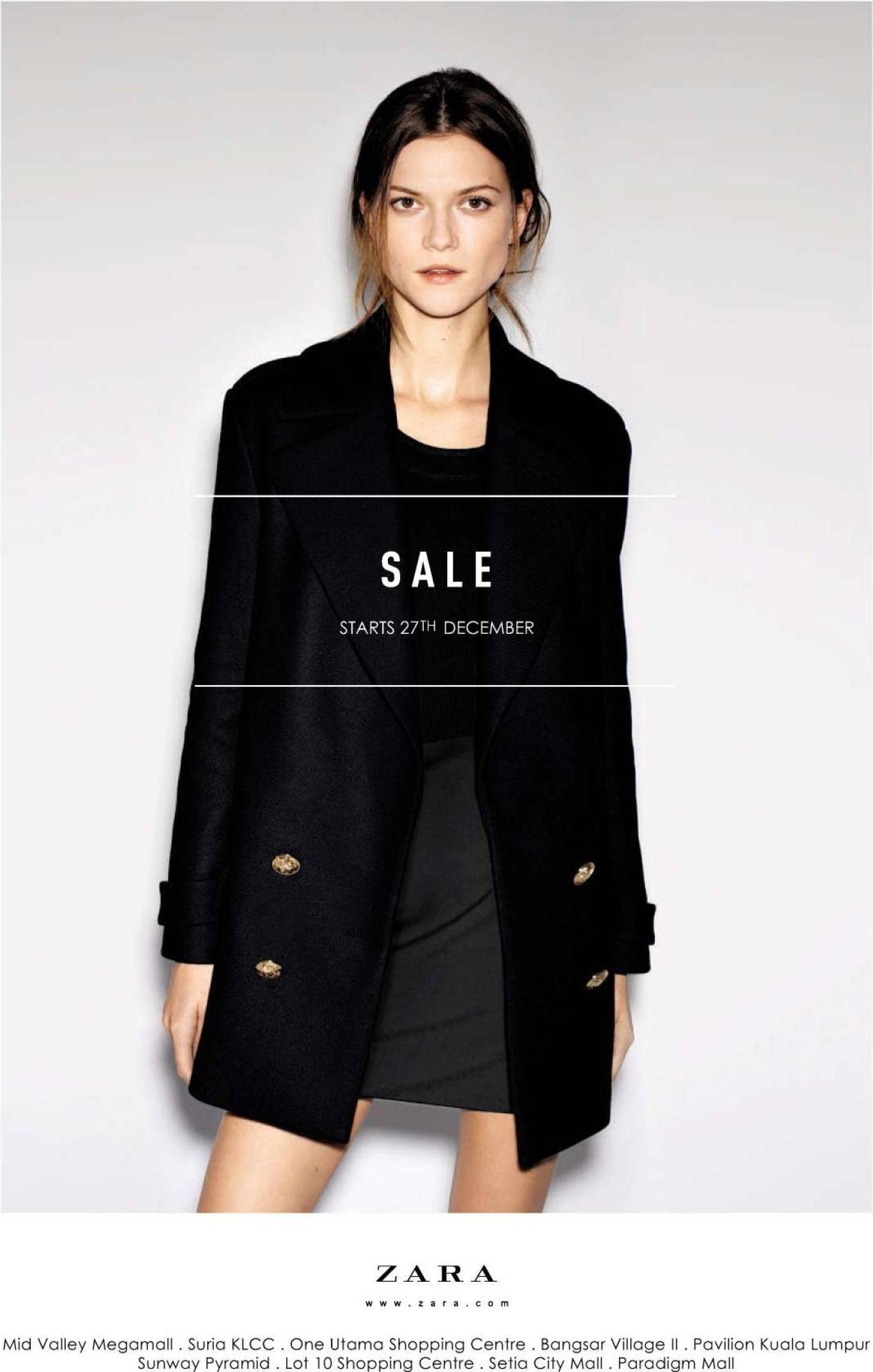 Zara poster design - Zara Sale