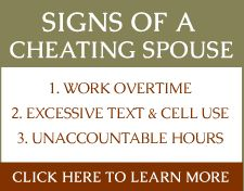 Signs a woman is cheating on her husband