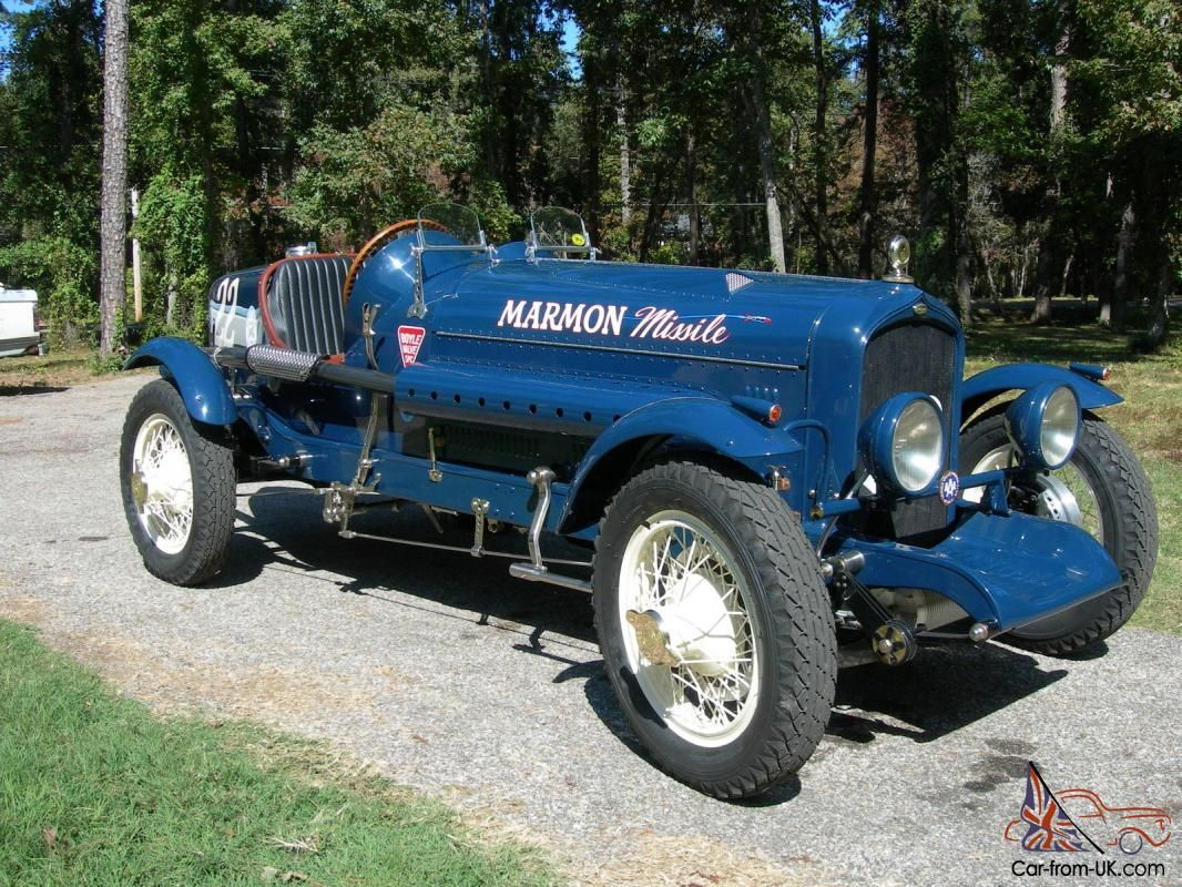 1929 MARMON BOAT TAIL RACE CAR FOR SALE BODY: All hand formed ...