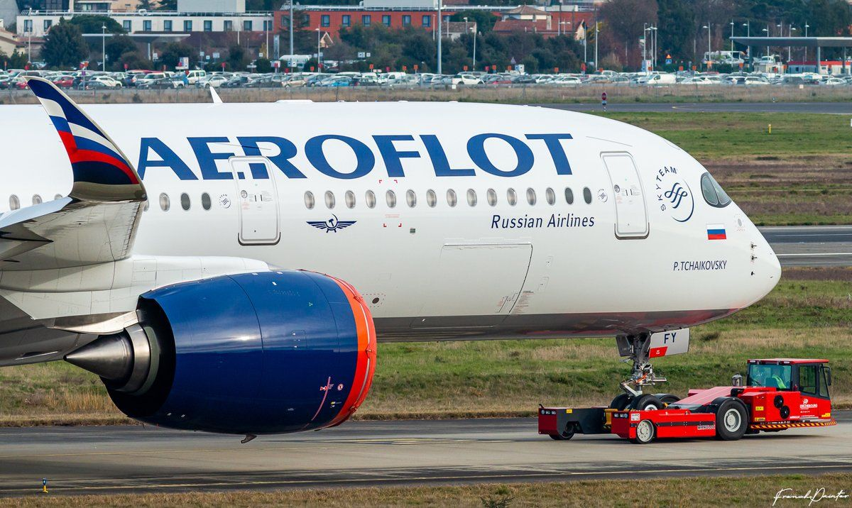 Pictures First Airbus A350900 of Aeroflot appears with