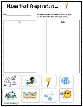 Temperature Teacherspayteachers Com Temperatures Science Units Grade 2 Science Ixl maths worksheets for grade 2