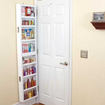 Beau Add Storage Behind A Door With Cabidor Behind Door Storage. Great For  Bedroom, Pantry, Or Bathroom Storage.