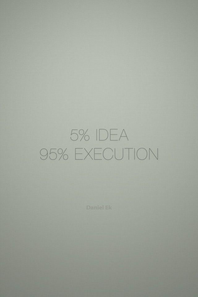 5 Idea 95 Execution Quotes Execution