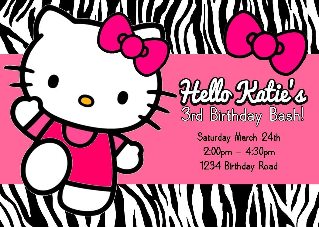 Adorable ideas for your Hello Kitty party games PLUS Hello Kitty – Hello Kitty Birthday Party Ideas Invitations