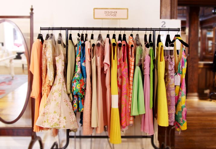 Dress Box Vintage Clothing And Accessories Liberty London Balian Thrift Store Shopping Shopping Store