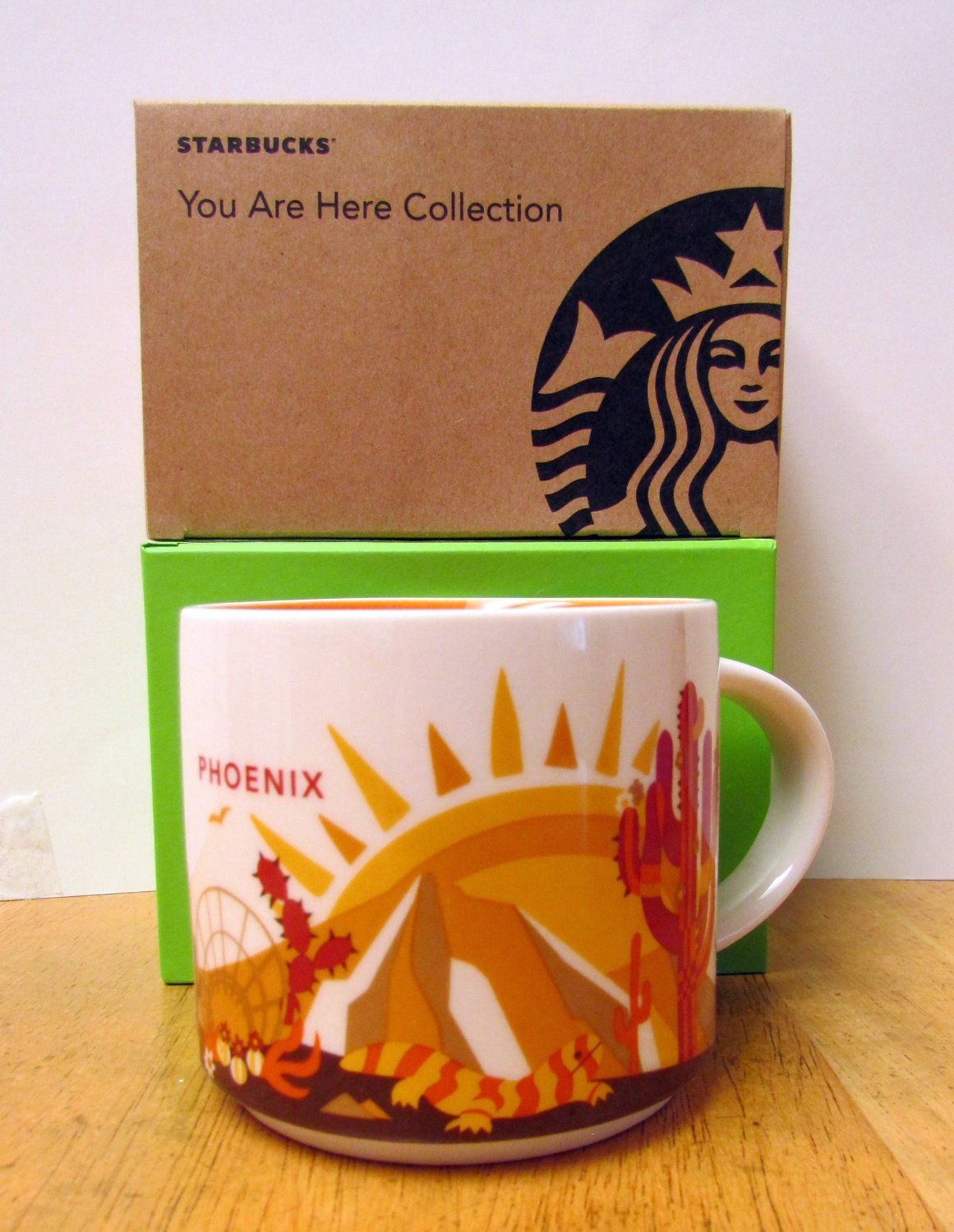 STARBUCKS 14oz Paris You Are Here Coffee Mug Collection City Collector Cups