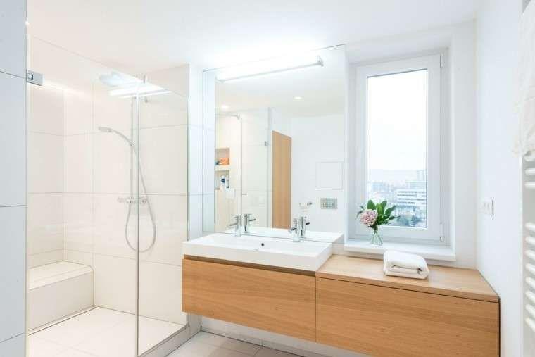 Arredare Il Bagno In Stile Scandinavo Bagno Chiaro Design Del Bagno Bagno Interno Disegno Loft