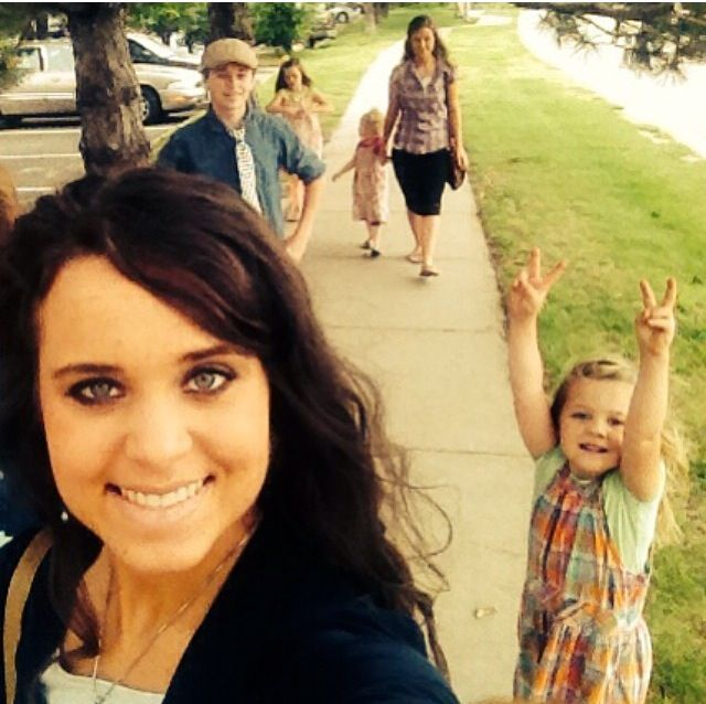 The Duggar family #Jordyn #Jana #Jinger #Josie #Jason #Johannah