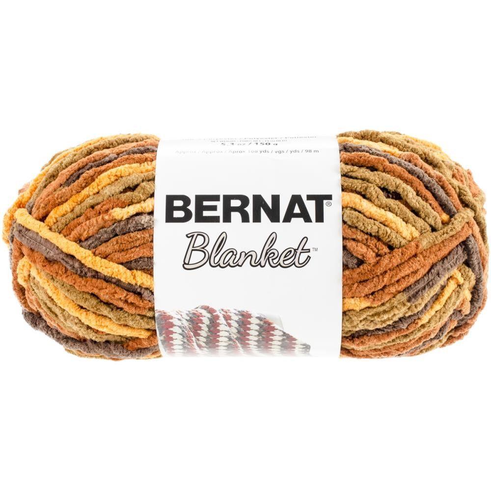 Bernat Blanket Yarn Fall Leaves 150 Gram Skein | Bernat yarn ...