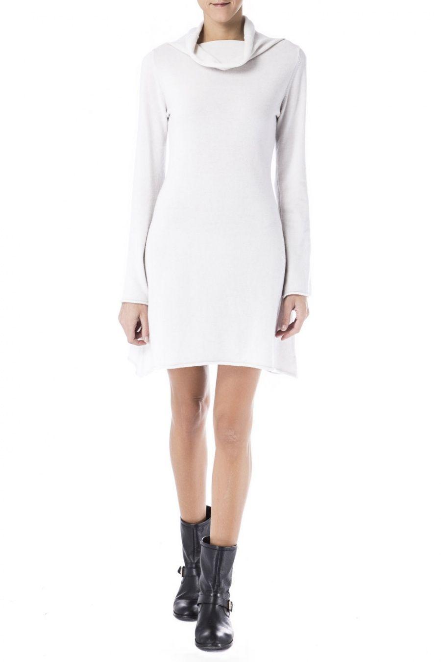 Vestido punto liso Daniele Fiesoli | Outlet Online de Ropa de Marca de Hombre y Mujer