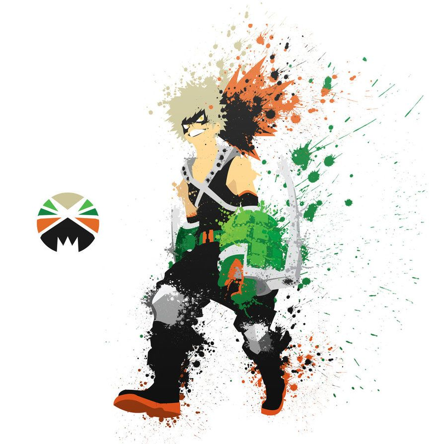 Bakugou. Bang Bang! by crazy8rex on DeviantArt