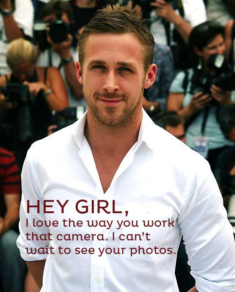 Ryan loves your photos! Join the fun photo challenges at iHeartFaces.com