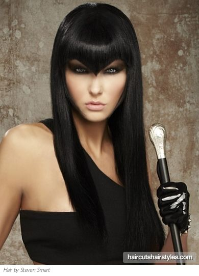 Image Detail For Edgy Bangs Long Hairstyle Long Hairstyles Gallery Edgy Hair V Bangs Long Hair Styles