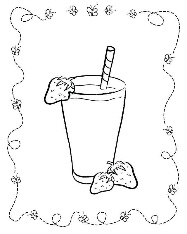 Food coloring pages for kids | Adult Coloring Pages | Coloring pages ...