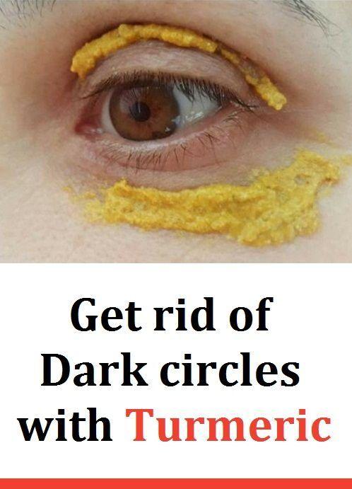 Get rid of Dark circles with Turmeric in 2020 | Dark ...