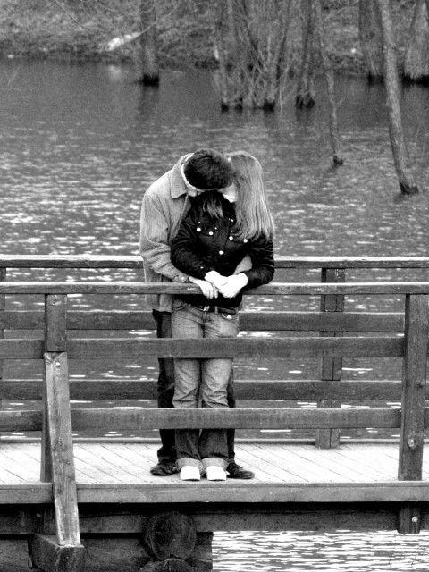 фото про любовь черно-белые