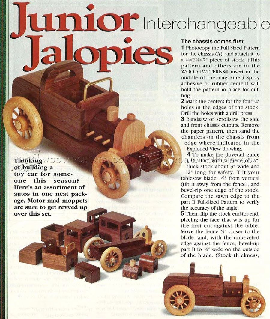 2865 wooden toy car plans - wooden toy plans | projects to
