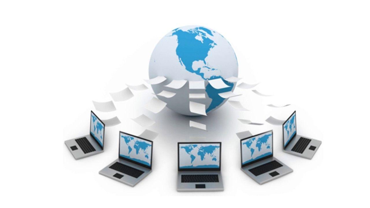 Web development process includes web content development, client and