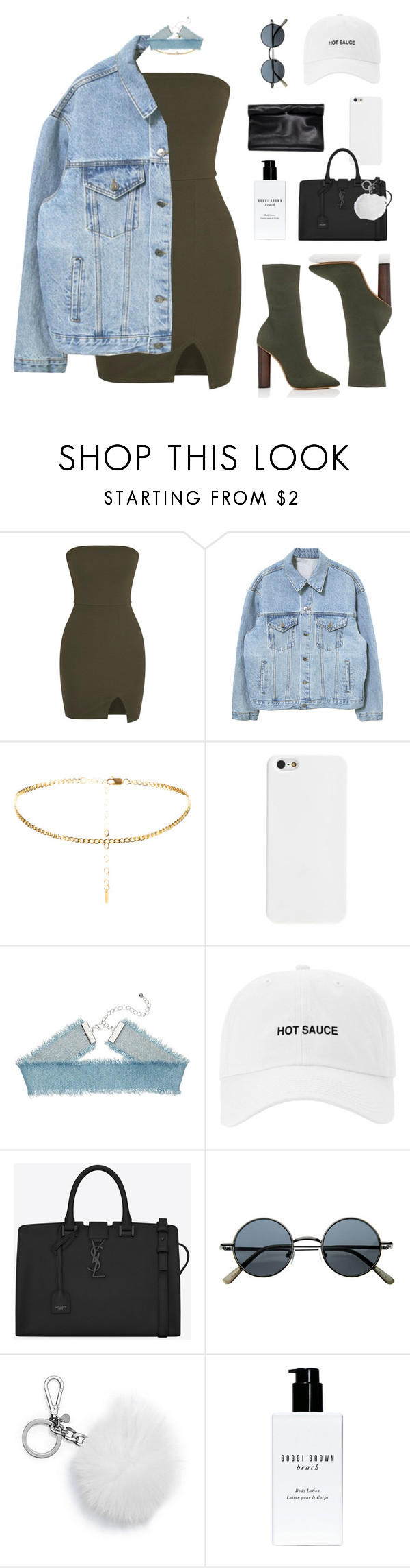 """""""yesterday"""" by taniabiebz ❤ liked on Polyvore featuring adidas, Yves Saint Laurent, MICHAEL Michael Kors and Bobbi Brown Cosmetics"""