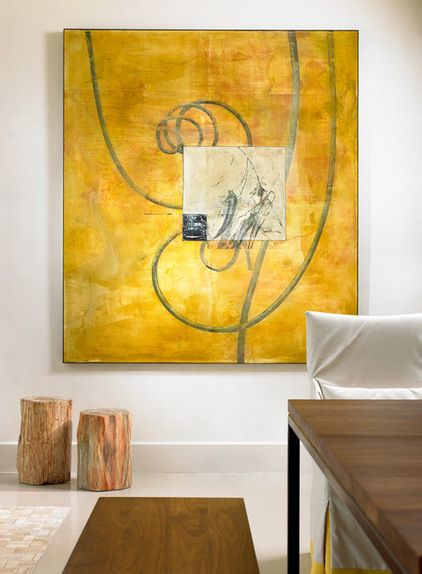 10 Broad-Stroke Ideas for Choosing and Displaying Art Conquer bare ...