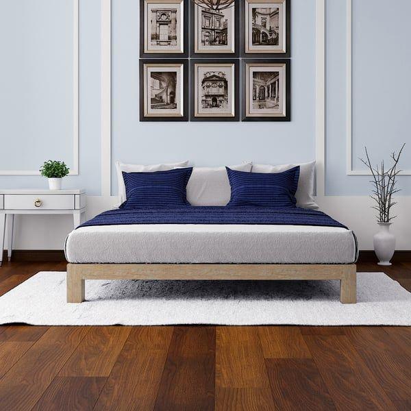 Motif Design Aura Deluxe Platform Bed Gold 8f Bedroom