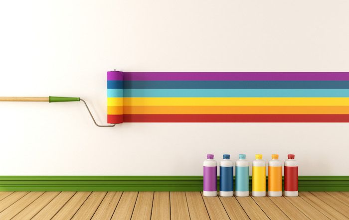 ▷ 1001 + Ideen und Bilder zum Thema Wand streichen Ideen Pinterest - wohnzimmer gelb streichen