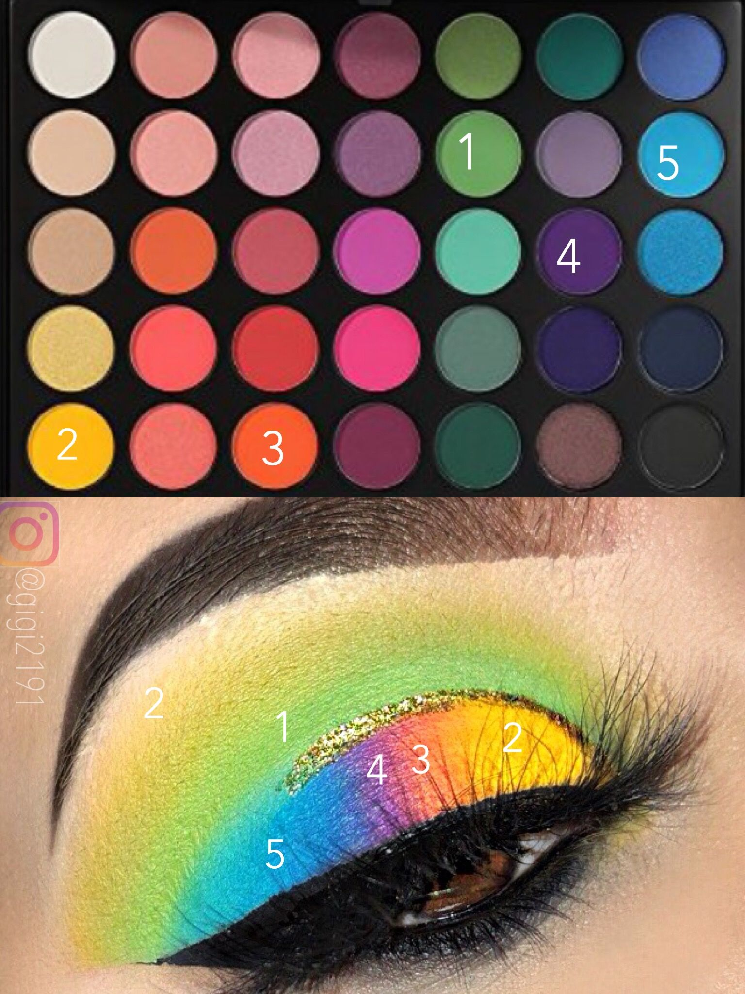 Morphe 35b Eyeshadow Look By Gigi2191 Makeup Morphe Eyeshadow Rave Makeup Explore the spectrum with the morphe 35b color burst artistry palette, a set of 35 bold, bright eyeshadows in a kaleidoscope of colour. pinterest