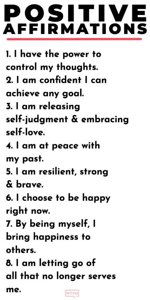 20 Positive Affirmations For Women That Will Make