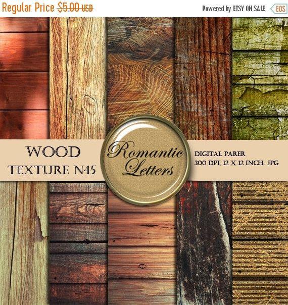 Digital Paper Wood texture wood digital paper scrapbook background