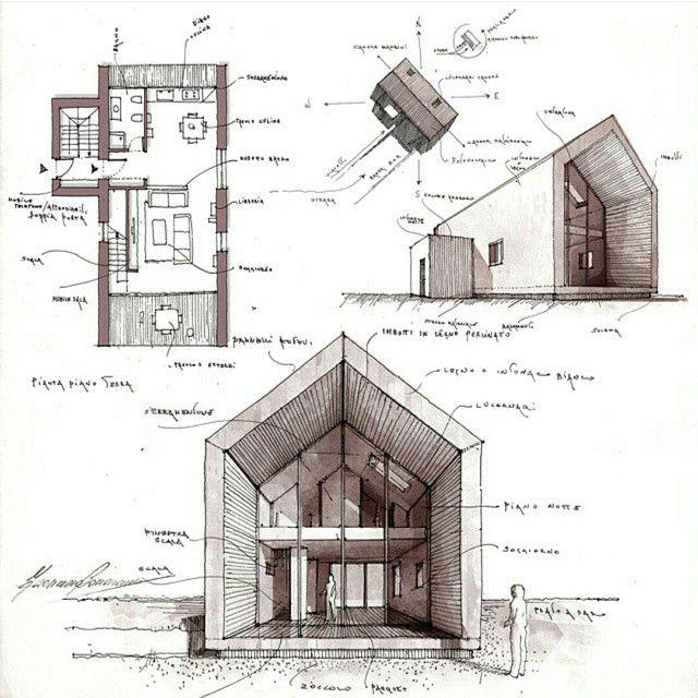 Sketch pinterest arquitectura for Arquitectura interior sl