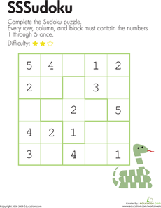 Snake Sudoku | Lernen