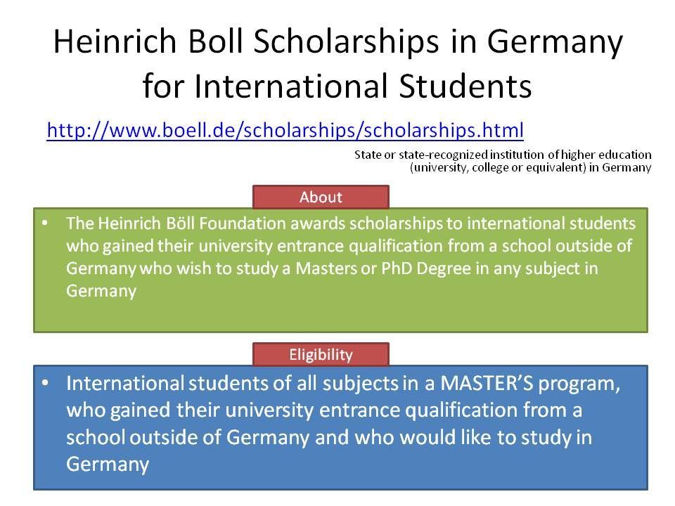 Master Scholarships.pptx Scholarships, International