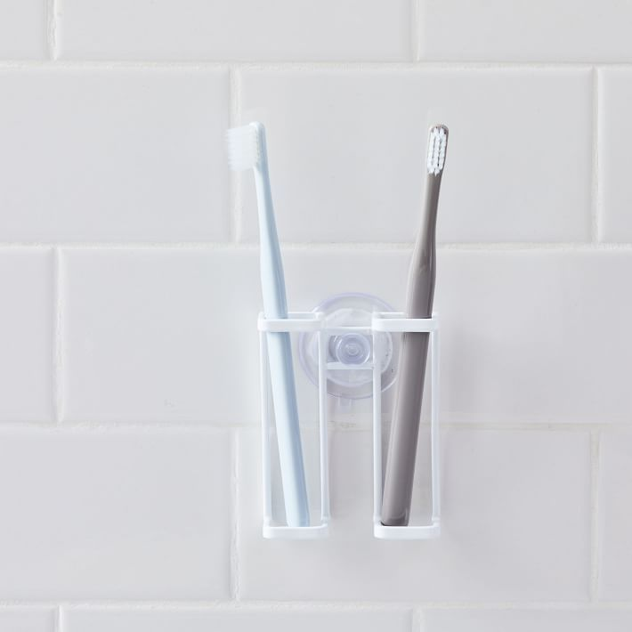 Suction Cup Toothbrush Holder White For The Home In